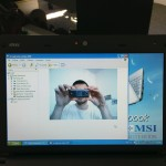 Working webcam in MSI Wind